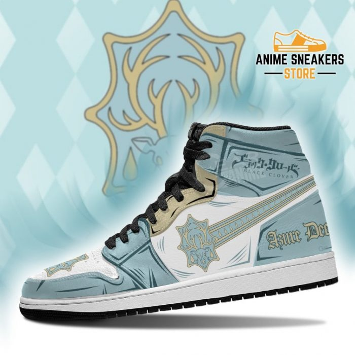 Azure Deer Magic Knight Sneakers Black Clover Anime Jd