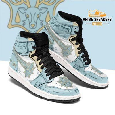 Azure Deer Magic Knight Sneakers Black Clover Anime Men / Us6.5 Jd
