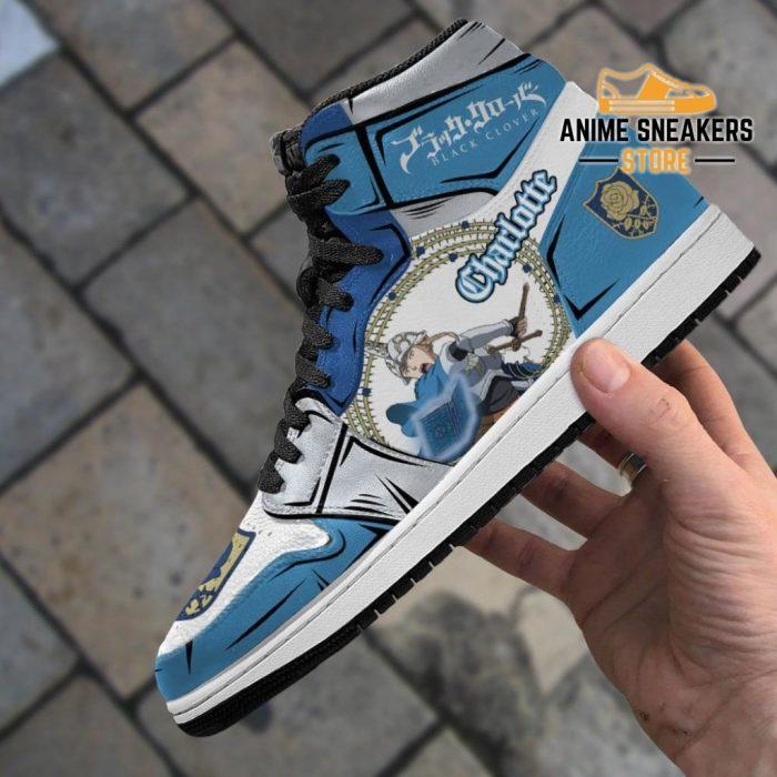 Blue Rose Charlotte Roselei Sneakers Black Clover Anime Shoes Jd
