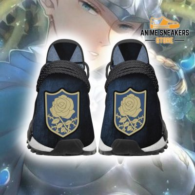 Blue Rose Shoes Magic Knight Black Clover Anime Sneakers Men / Us6 Nmd