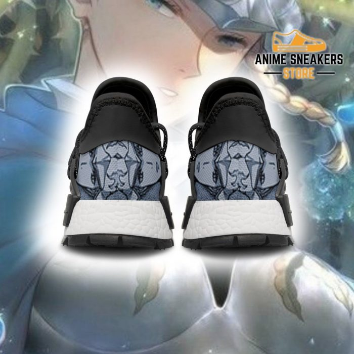 Blue Rose Shoes Magic Knight Black Clover Anime Sneakers Nmd