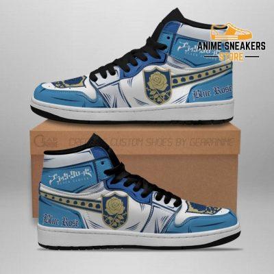 Blue Rose Magic Knight Sneakers Black Clover Anime Jd
