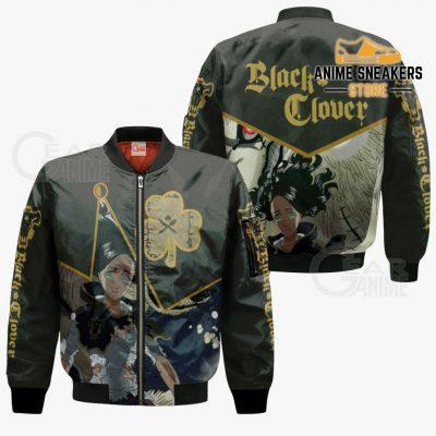 Black Bull Charmy Custom Shirt Clover Anime Jacket Va11 Bomber / S All Over Printed Shirts