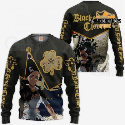 Black Bull Charmy Custom Shirt Clover Anime Jacket Va11 Sweater / S All Over Printed Shirts