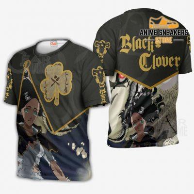 Black Bull Charmy Custom Shirt Clover Anime Jacket Va11 T-Shirt / S All Over Printed Shirts
