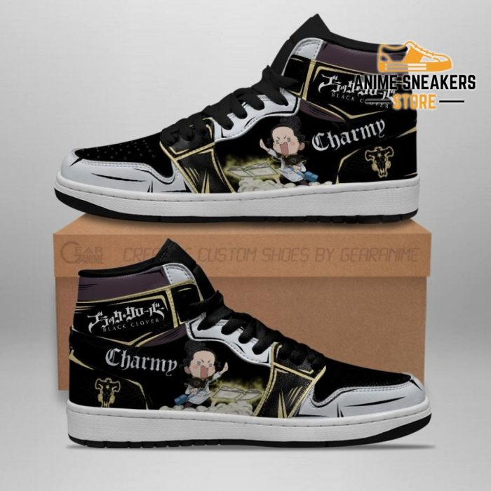 Black Bull Charmy La Sneakers Clover Anime Shoes Jd
