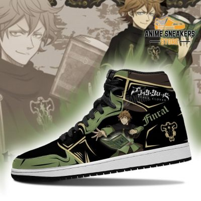 Black Bull Finral Sneakers Clover Anime Shoes Jd