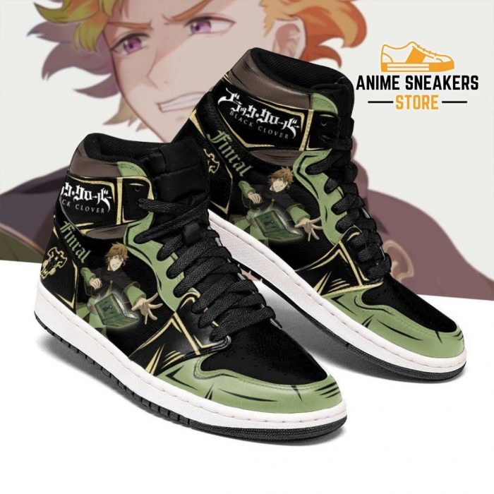 Black Bull Finral Sneakers Clover Anime Shoes Men / Us6.5 Jd
