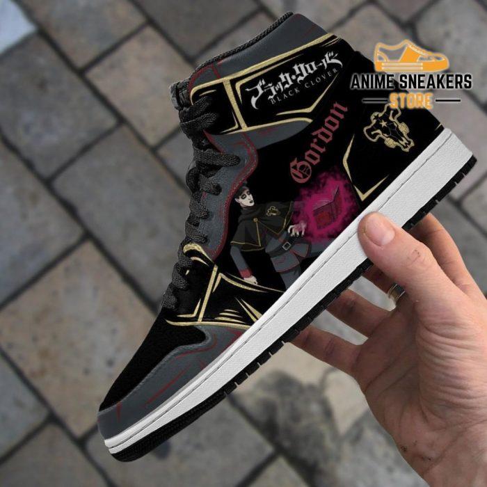 Black Bull Gordon Agrippa Sneakers Clover Anime Shoes Jd