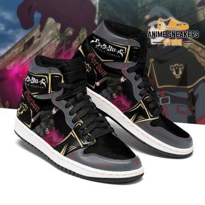 Black Bull Gordon Agrippa Sneakers Clover Anime Shoes Men / Us6.5 Jd