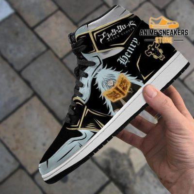 Black Bull Henry Sneakers Clover Anime Shoes Jd