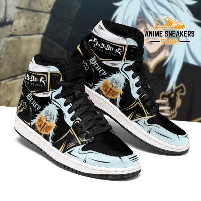 Black Bull Henry Sneakers Clover Anime Shoes Men / Us6.5 Jd