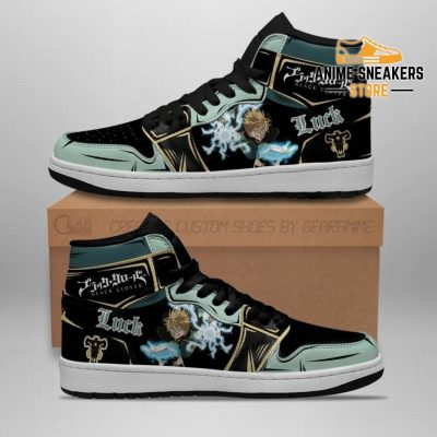 Black Bull Luck Voltia Sneakers Clover Anime Shoes Jd