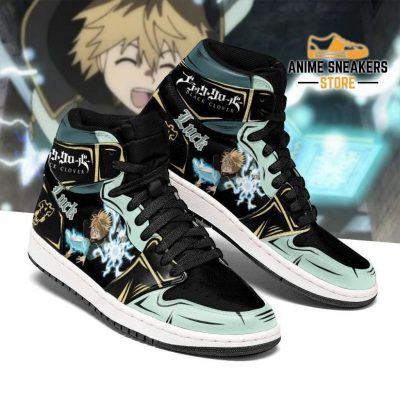 Black Bull Luck Voltia Sneakers Clover Anime Shoes Men / Us6.5 Jd