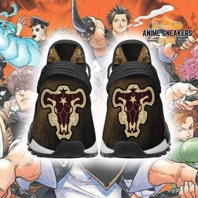 Black Bull Shoes Magic Knight Clover Anime Sneakers Men / Us6 Nmd