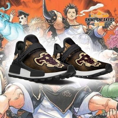 Black Bull Shoes Magic Knight Clover Anime Sneakers Nmd