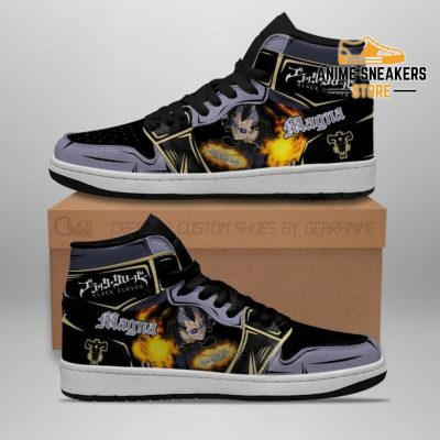 Black Bull Magna Sneakers Clover Anime Shoes Jd