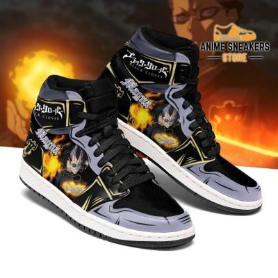 Black Bull Magna Sneakers Clover Anime Shoes Men / Us6.5 Jd