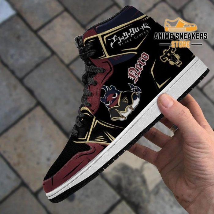 Black Bull Nero Sneakers Clover Anime Shoes Jd