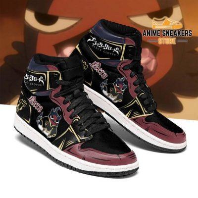 Black Bull Nero Sneakers Clover Anime Shoes Men / Us6.5 Jd