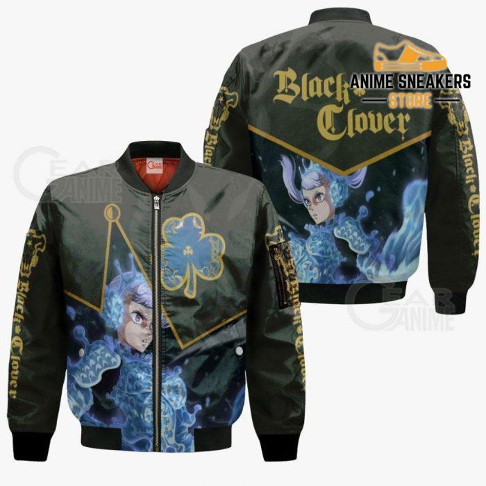 Black Bull Noelle Silva Custom Shirt Clover Anime Jacket Va11 Bomber / S All Over Printed Shirts