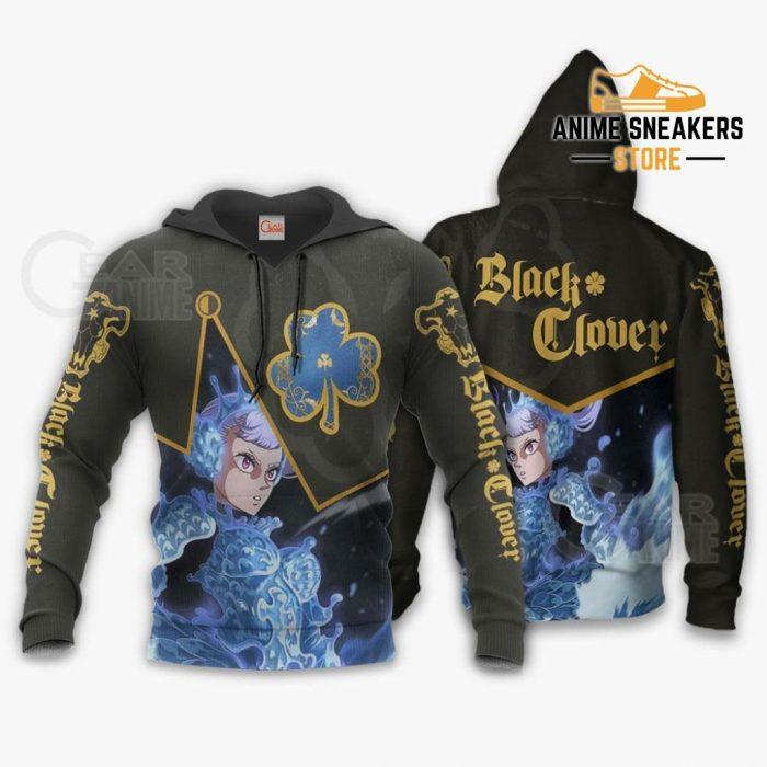 Black Bull Noelle Silva Custom Shirt Clover Anime Jacket Va11 Hoodie / S All Over Printed Shirts