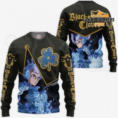 Black Bull Noelle Silva Custom Shirt Clover Anime Jacket Va11 Sweater / S All Over Printed Shirts