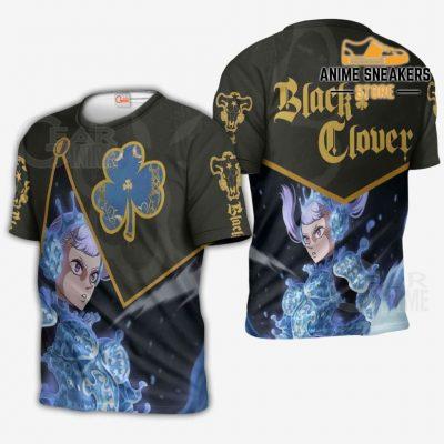 Black Bull Noelle Silva Custom Shirt Clover Anime Jacket Va11 T-Shirt / S All Over Printed Shirts