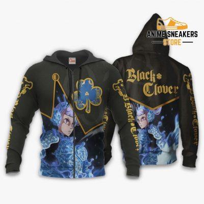 Black Bull Noelle Silva Custom Shirt Clover Anime Jacket Va11 Zip Hoodie / S All Over Printed Shirts