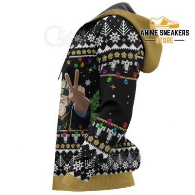 Black Bull Ugly Christmas Sweater Clover Anime Xmas Gift Va11 All Over Printed Shirts