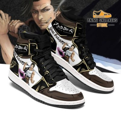 Black Bull Yami Grimore Sneakers Clover Anime Shoes Men / Us6.5 Jd