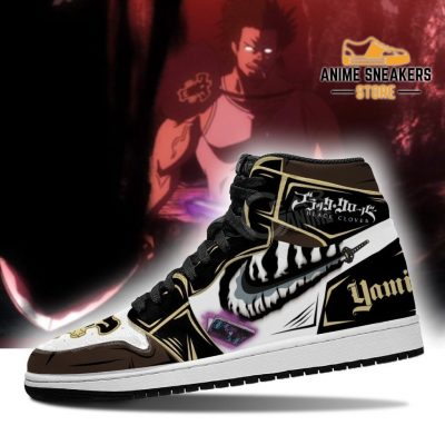 Black Bull Yami Sukehiro Sneakers Clover Anime Shoes Jd