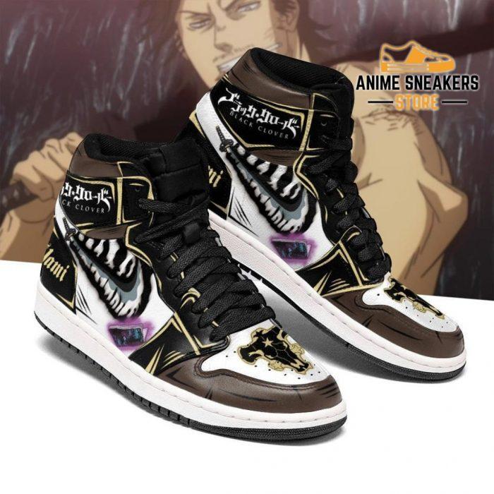 Black Bull Yami Sukehiro Sneakers Clover Anime Shoes Men / Us6.5 Jd