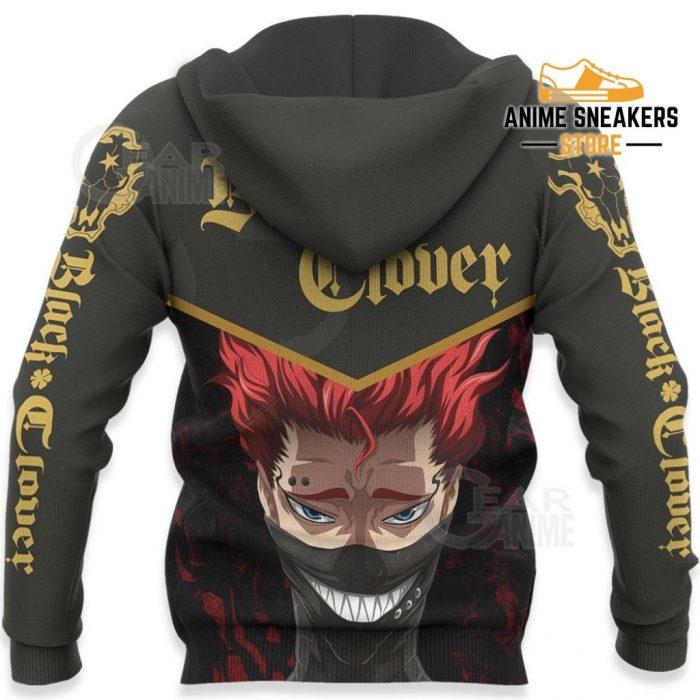 Black Bull Zora Ideale Custom Shirt Clover Anime Jacket Va11 All Over Printed Shirts