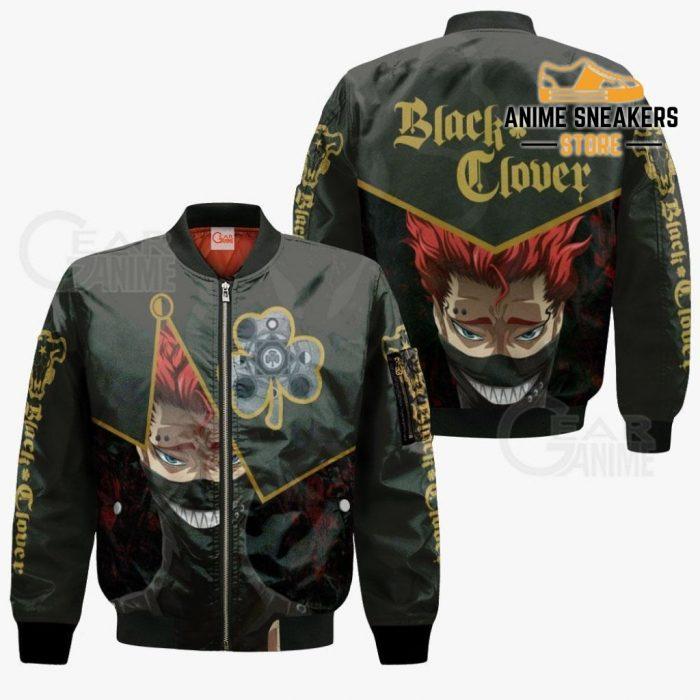 Black Bull Zora Ideale Custom Shirt Clover Anime Jacket Va11 Bomber / S All Over Printed Shirts