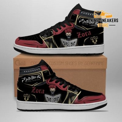 Black Bull Zora Ideale Sneakers Clover Anime Shoes Jd