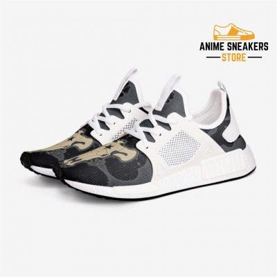 Black Clover Bulls Custom Nomad Shoes 3 / White Mens