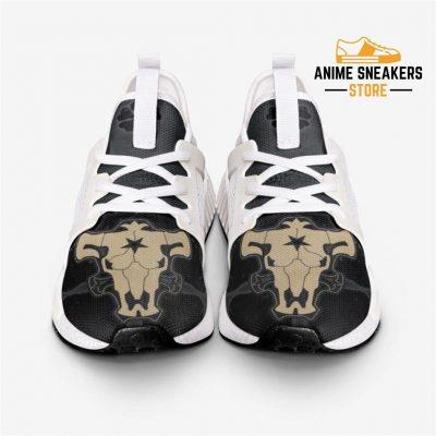 Black Clover Bulls Custom Nomad Shoes Mens