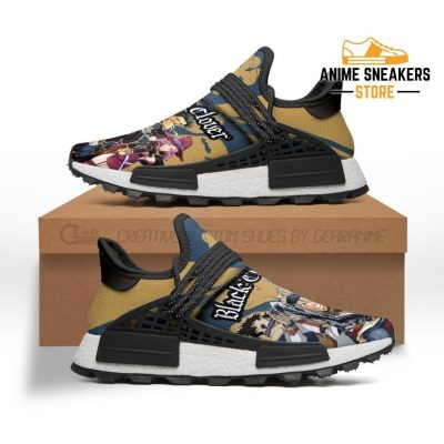 Black Clover Shoes Characters Custom Anime Sneakers Nmd