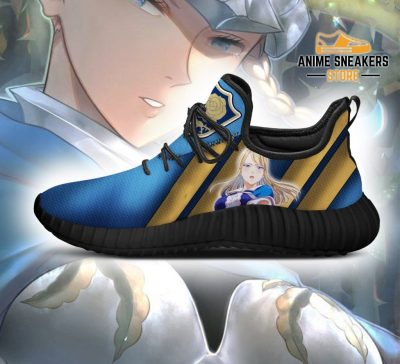 Black Clover Charlotte Reze Shoes Blue Rose Knight Anime Sneakers