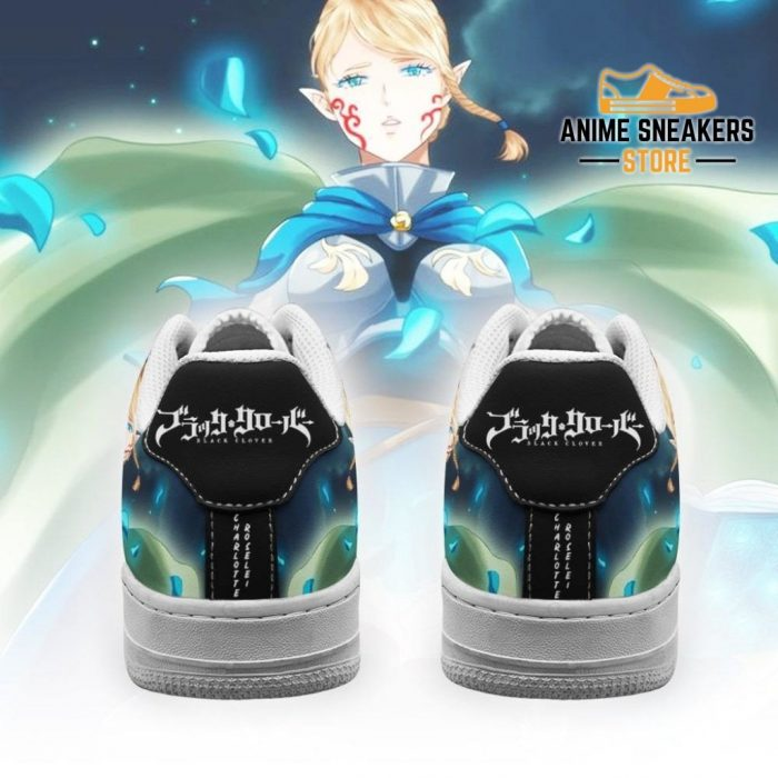 Charlotte Roselei Sneakers Black Clover Anime Shoes Fan Gift Air Force