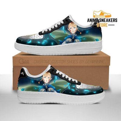 Charlotte Roselei Sneakers Black Clover Anime Shoes Fan Gift Men / Us6.5 Air Force