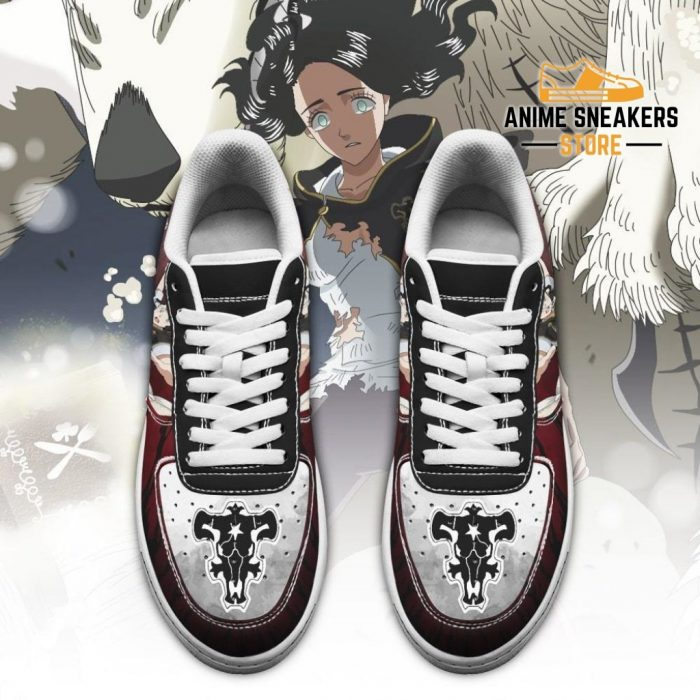Charmy Pappitson Sneakers Black Bull Knight Clover Anime Shoes Air Force
