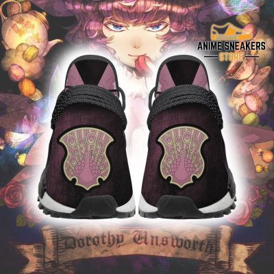 Coral Peacock Shoes Magic Knight Black Clover Anime Sneakers Men / Us6 Nmd