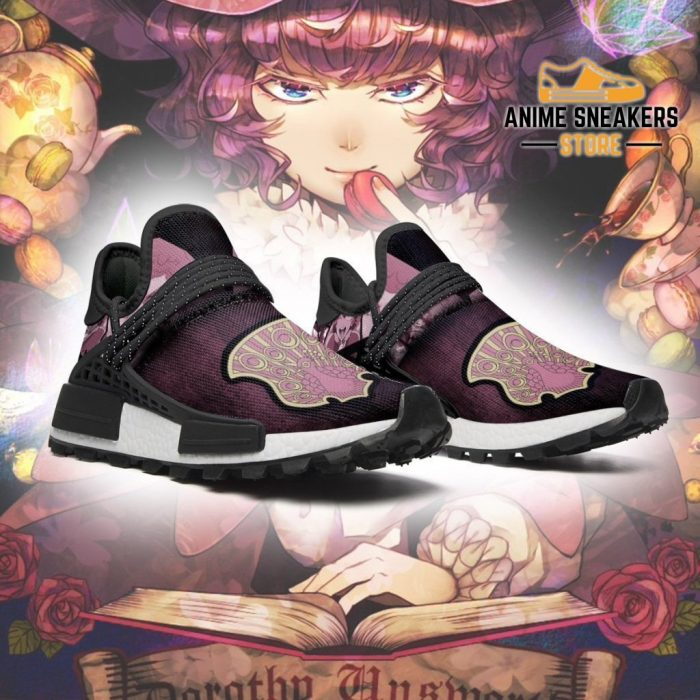 Coral Peacock Shoes Magic Knight Black Clover Anime Sneakers Nmd