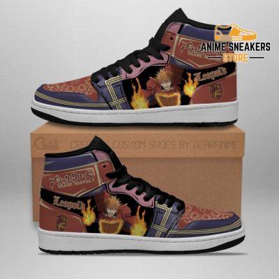 Crimson Lion Leopold Vermillion Sneakers Black Clover Anime Shoes Jd