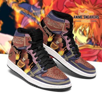 Crimson Lion Leopold Vermillion Sneakers Black Clover Anime Shoes Men / Us6.5 Jd