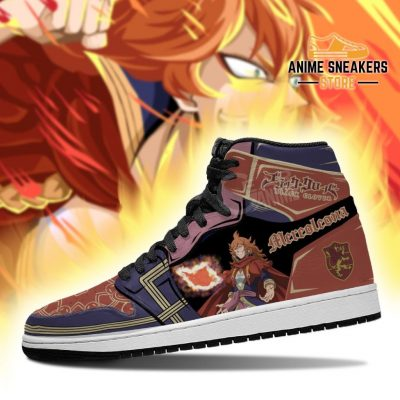 Crimson Lion Mereoleona Sneakers Black Clover Anime Shoes Jd