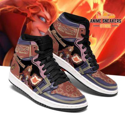 Crimson Lion Mereoleona Sneakers Black Clover Anime Shoes Men / Us6.5 Jd
