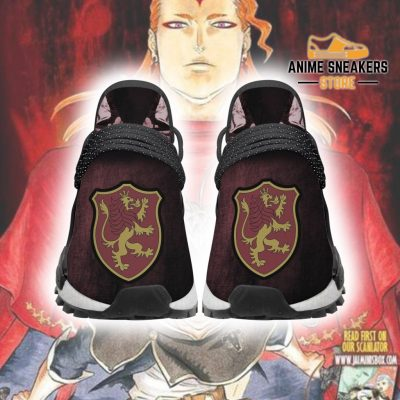 Crimson Lion Shoes Magic Knight Black Clover Anime Sneakers Men / Us6 Nmd